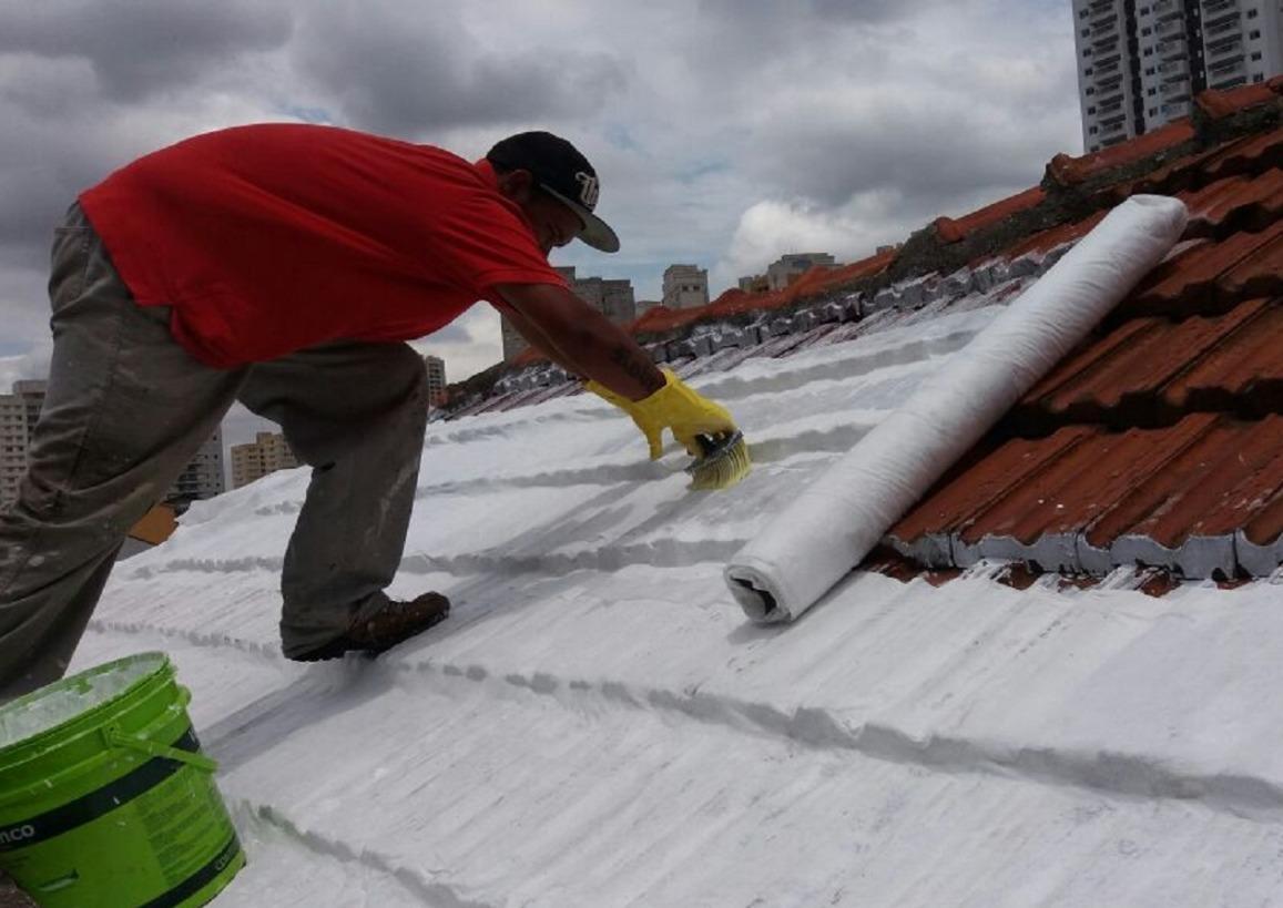 Manta para impermeabilizar telhado